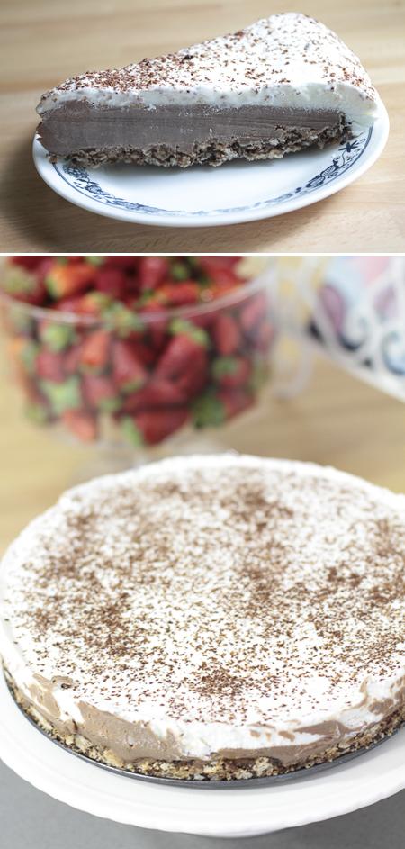 פאי מוס שוקולד כשר לפסח